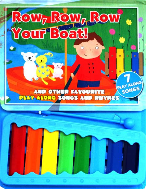 Buku Anak Sound Board Book Row Row Row Your Boat Melody row row row your boat and other favourite play along songs