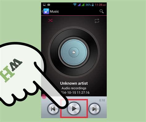 Mobile Records Aufio Mit Dem Handy Aufnehmen Wikihow