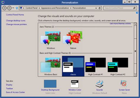 download theme windows 7 classic download windows classic theme for windows 8