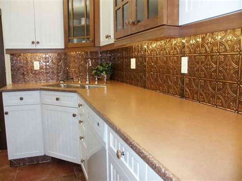 tin backsplashes for kitchens kitchen tips on build a tin kitchen backsplash
