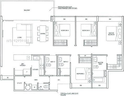condominium floor plan condo floor plans singapore images