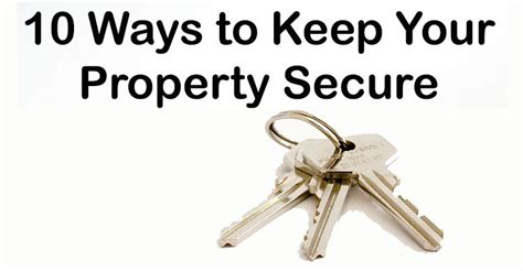 10 Ways To Keep Up With Revision by 10 Ways To Keep Your Property Safe