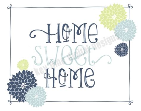 home decor printables key lime digital designs