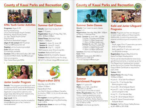 kauai summer fun guide kauai family magazine kauai summer fun guide