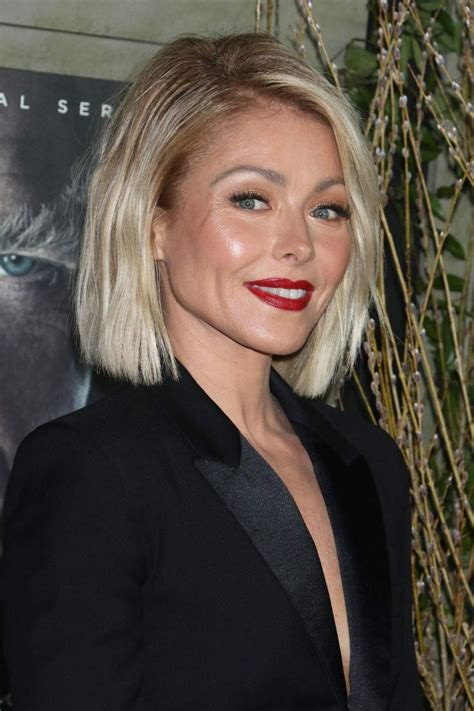 kelly ripa hair kelly ripa hairstyle fade haircut