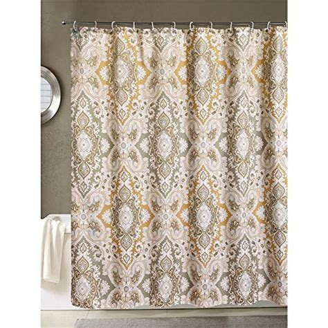 grey paisley shower curtain new lanmeng fabric shower curtain classic paisley design
