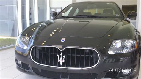 Roger Beasley Maserati Maserati Quattroporte Sport Gt S Start Loud Revs And Walk