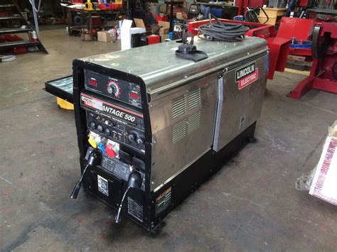 used lincoln welder lincoln electric vantage 500 diesel welder generator