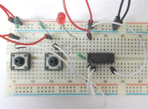gate circuit diagram  ic ls