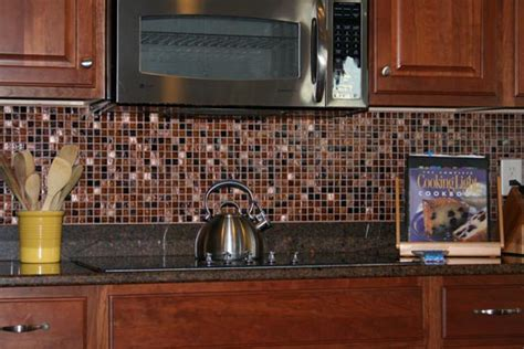 Tiled Kitchen Backsplash by Time Well Spent The Scrappin Librarian