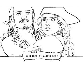 Pirates Of Caribbean Coloring Page Color Your Life Of The Caribbean Coloring Pages Coloring Home