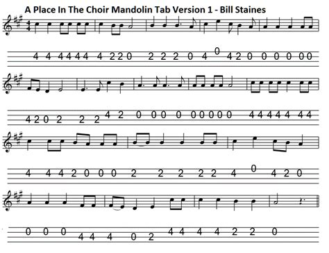 A Place Chords A Place In The Choir Lyrics And Chords Folk Songs