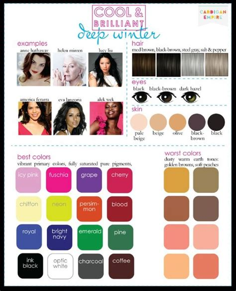 winter my color season my style sewing ideas