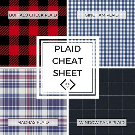 difference between plaid and tartan how to best style plaid the many different types of it