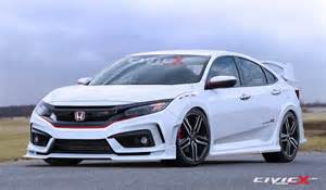Types Of Honda Civic Hatchbacks New 2017 Honda Civic Type R Hatchback Rendering Looks