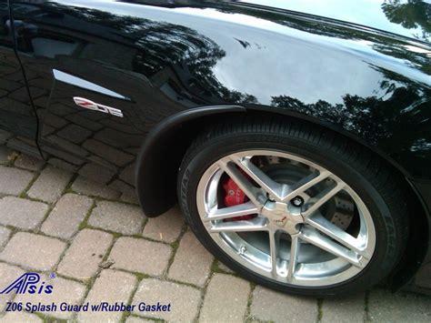 apsis corvette apsis corvette c6 z06 or grand sport front splash guards