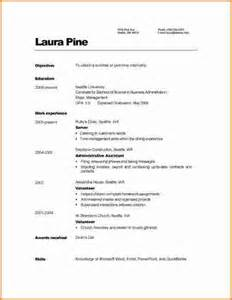 Simple Resume Example 9 Example Of Simple Filipino Resume Expense Report Template