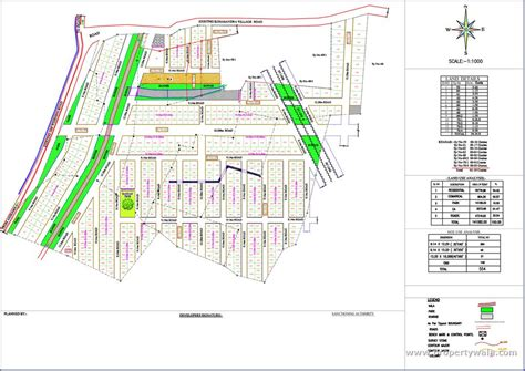 layout plan bsr akruthi green woods jigani bangalore independent