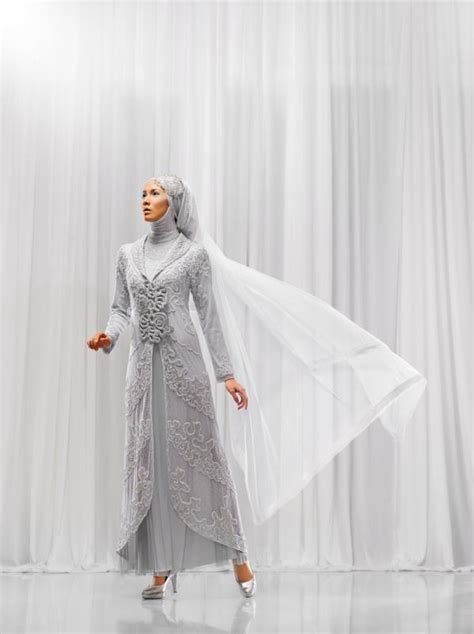 Baju Muslim Modern 2015 Model Baju Muslim Pengantin Modern Terbaru 2015