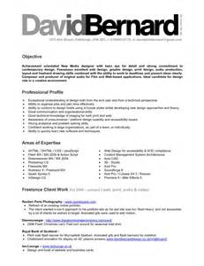 Resume Summary Exles Graphic Design Resume Objective Statement For Graphic Design Resume