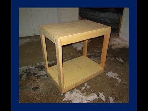 cheap work bench easy build a cheap and simple portable workbench youtube