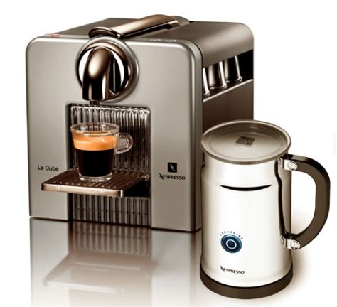 Nespresso Coffee Machine nespresso coffee machine le cube c185 digsdigs