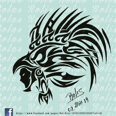 imagenes tribales aztecas guerrero aguila tribal rolis mi web