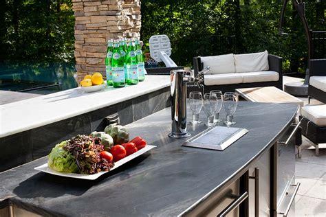 Bethesda Maryland Kalamazoo Outdoor Gourmet Outdoor Kitchen With Kegerator
