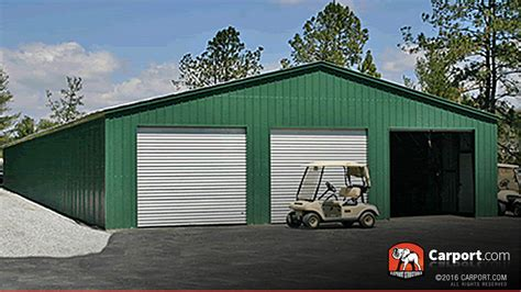 3 Bay Shed Prices by Missouri Carports Metal Buildings And Garages