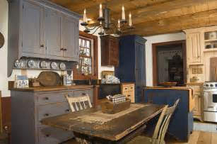 Reproduction peoria il saltbox house rustic kitchen other by