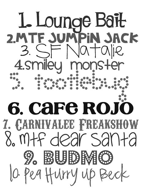 i typography font lovely snippets favorite fonts take 2