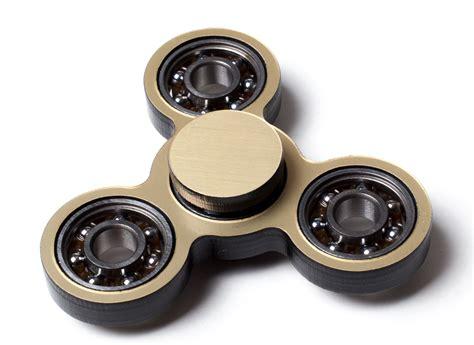 Spinner Blade Gold lensdigital s day edc spinner