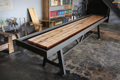 Pallet Coffee Table For Sale District Mfg Shuffleboard Table Uncrate