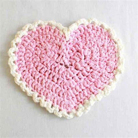 pattern of heart in crochet 37 crochet placemat patterns guide patterns