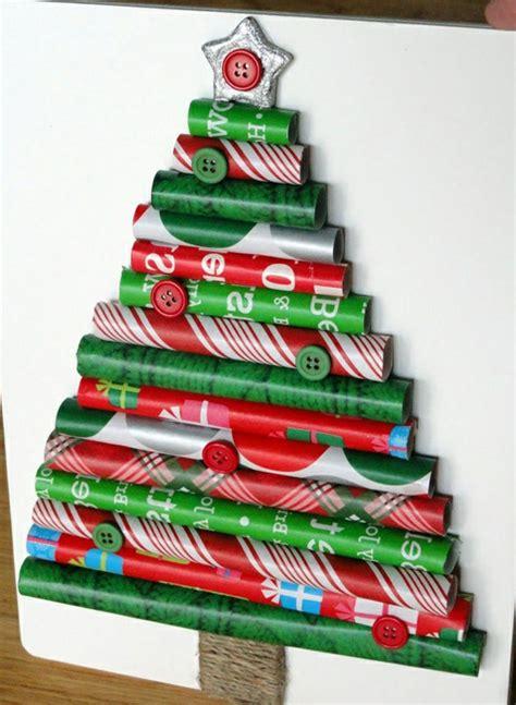 Basteln Mit Geschenkpapier by Weihnachtsbaum Basteln 24 Unglaublich Kreative Diy Ideen