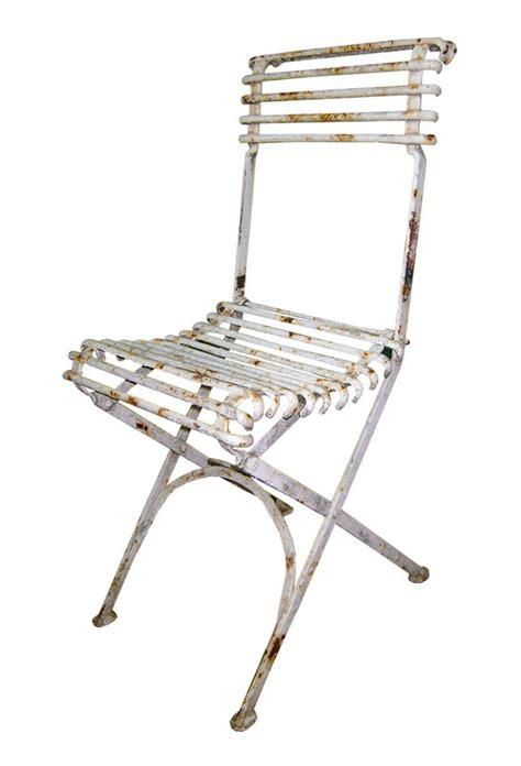 chaise de jardin pliante en m 233 tal fer forg 233 style arras