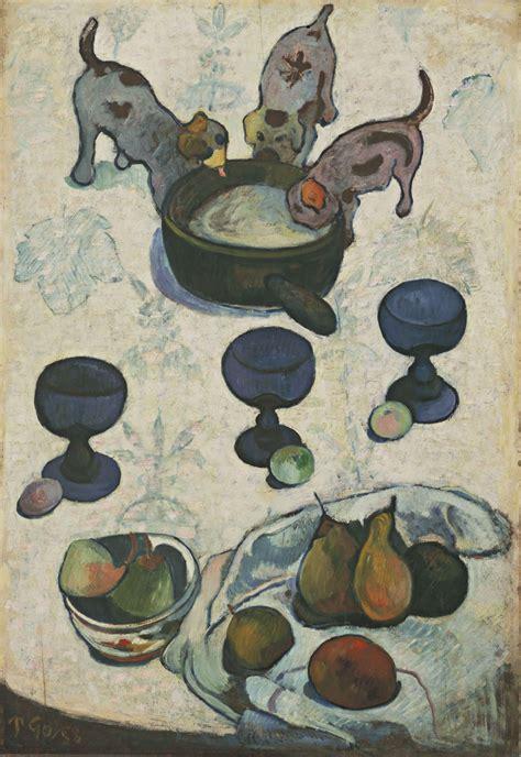 three puppies file paul gauguin still with three puppies jpg wikimedia commons