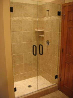 116 Best Frameless Shower Enclosures Images On Pinterest Used Glass Shower Doors
