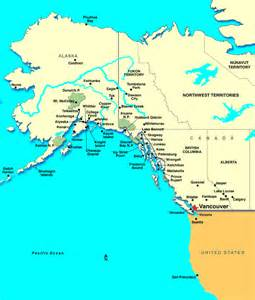 Bc Canada Map by Vancouver Cruises Vancouver Cruise Cruises From