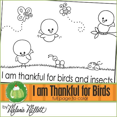 coloring pages birds and insects i am thankful for birds and insects coloring page