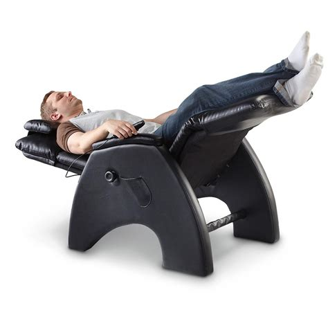 inversion recliner tony little 174 anti gravity massage recliner chair