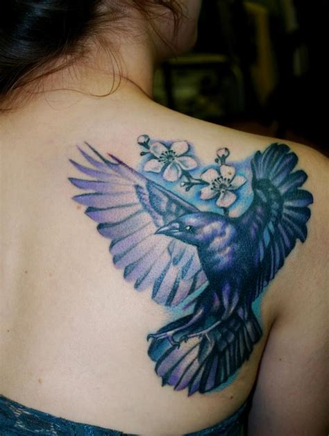 off the map tattoo tattoos nature animal bird crow