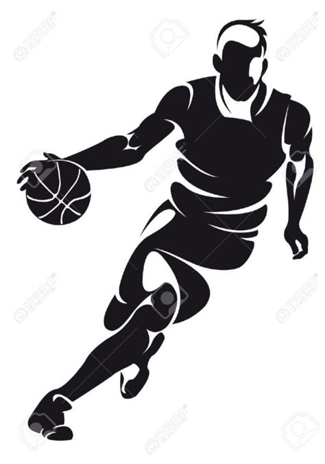 Basketball Silhouette Clipart