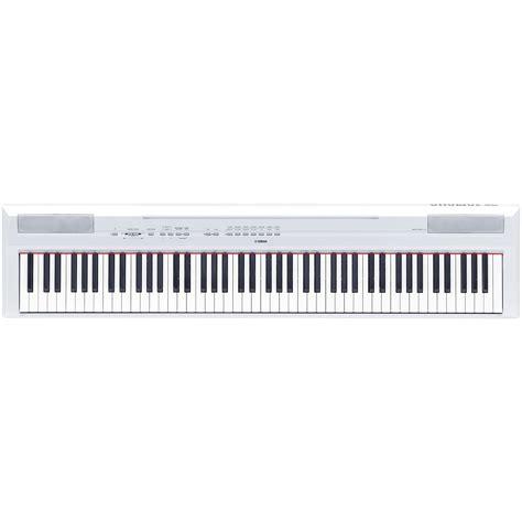 Keyboard Yamaha Nuansa Musik yamaha p 115 wh 171 stage piano