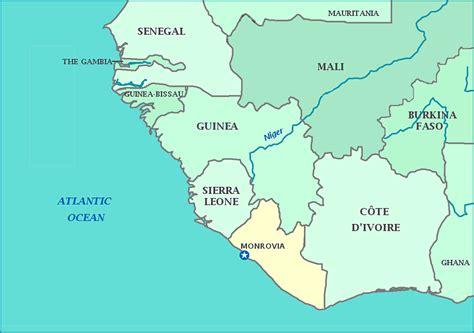 africa map liberia map of liberia republic of liberia maps mapsof net