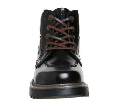 Kickers Boot Black Made In kickers stargent boots black leather boots