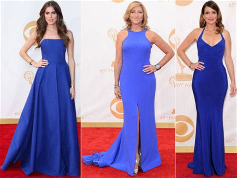 Emmys Fashion Goes White And Blue by 2013 Emmys Carpet Dresses