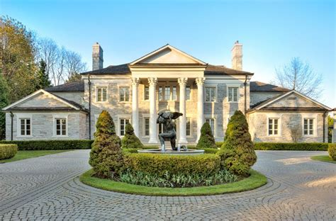 Mansion Houses by 20 000 Square Foot Neoclassical Mansion In Toronto
