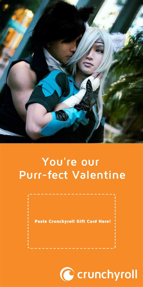 Crunchyroll Gift Card - crunchyroll forum will you be my valentine give the gift of anime and drama
