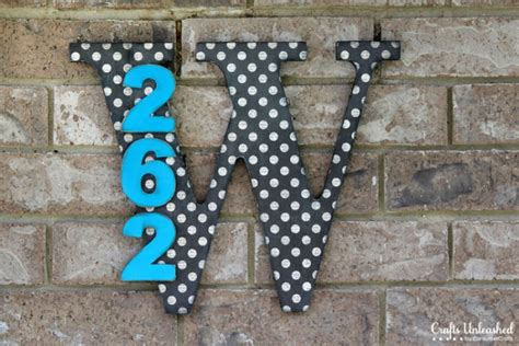 diy house numbers 10 creative and eye catching diy house number ideas shelterness